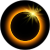 Solar Eclipse Pin